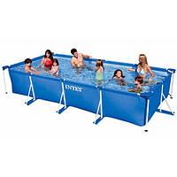 Каркасный бассейн для большой семьи Intex (450х220х85 см)