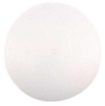Коврик сервировочный круглый 38 см (белый), PDL, фото 2