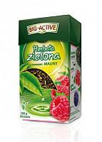 Чай зеленый Big-Active с малиной, 100 г (Польша)