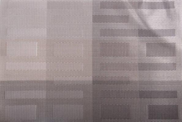 """Коврик сервировочный прямоугольный """"Абстракция"""" (серый) 30*45 см, PDL, фото 2"""