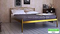 Кровать металлическая Верона - 1 / Verona - 1 полуторная 140 (Метакам) 1460х2080х720 мм