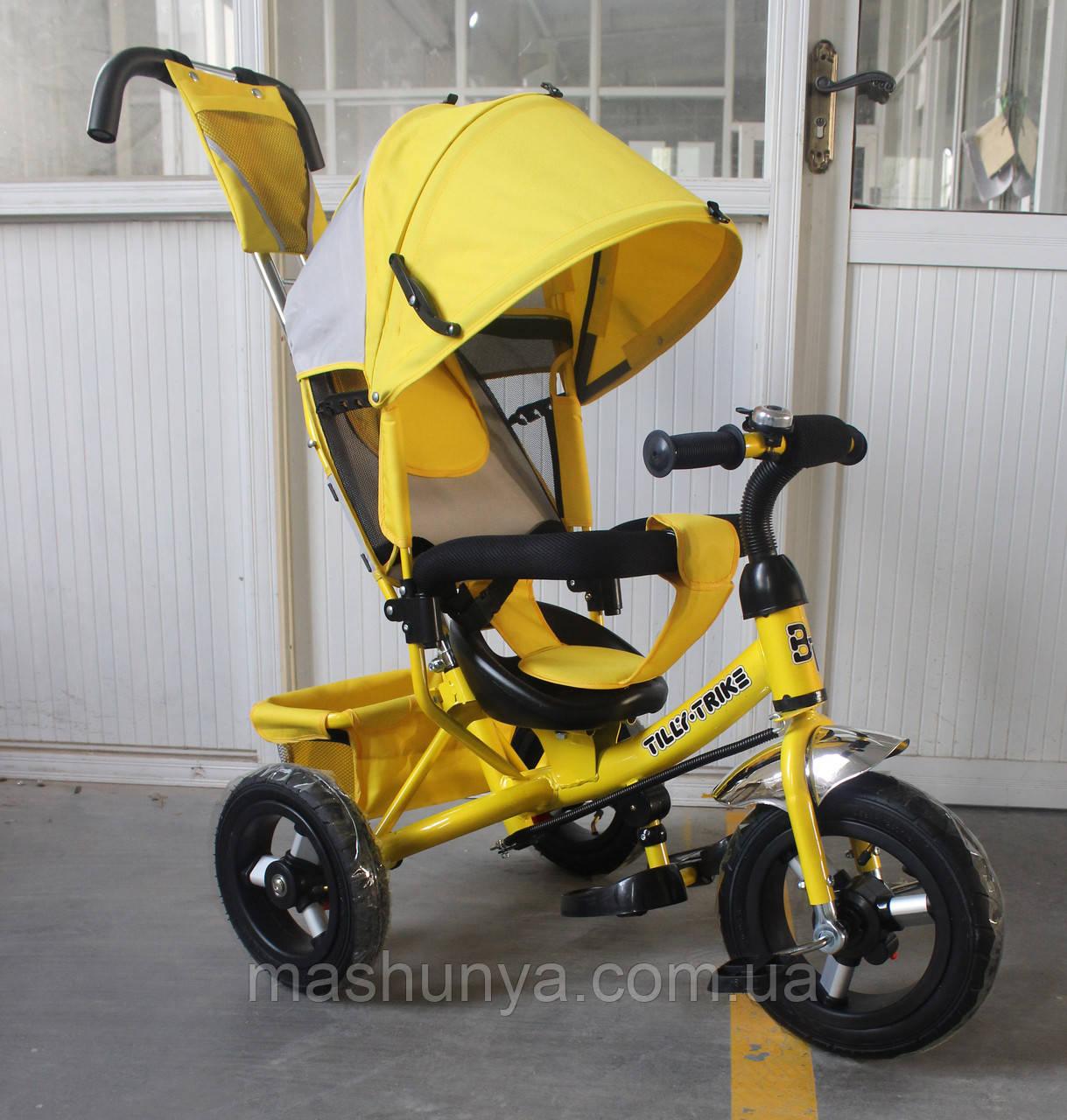 Велосипед трехколесный Tilly Trike t-364 надувные колеса