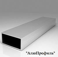 Труба  алюминиевая 40х20х1,1  анод
