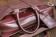 Кожаная мужская деловая сумка Blamont 023 цвет коньяк, фото 6