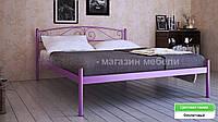 Кровать металлическая Верона - 1 / Verona - 1 двухспальная 160 (Метакам) 1660х2080х720 мм
