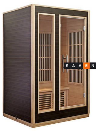 Инфракрасная кабина HARVIA RONDIUM 6 ИК-излучателей, фото 2