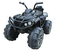 Электроквадроцикл детский T-733 BLACK с MP3 103*68*73см