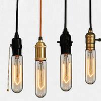 Лампа  ЭдисонаТ30 40W 10 якоря