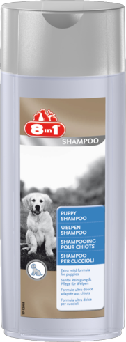 Шампунь для щенков 8 в 1. Шампуни для собак