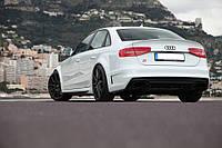 Сабля спойлер Audi A4 B8 стиль S-line
