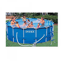 Бассейн каркасный для всей семьи Intex 366х99 см