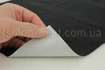Антискрип Н1.5 Черный (25х100см), толщина 1.5 мм, прокладочный материал