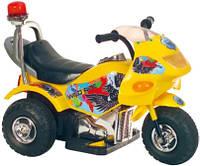 Детский электромотоцикл T-721 YELLOW (72*36*50см)
