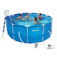 Каркасный бассейн  для большой компании Intex 366х122 см