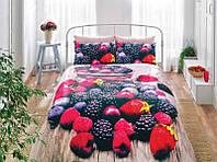 Комплект постельного белья TAC Сатин 3D  Berry V01