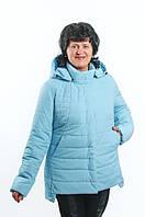 Весенняя куртка для женщины. Размеры 52-58