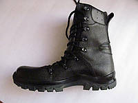 Ботинки, берцы из натуральной кожи, мембрана
