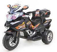 Электрический мотоцикл T-722 BLACK с MP3 113*54*75см