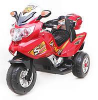 Мотоцикл детский электрический T-722 RED с MP3 113*54*75см