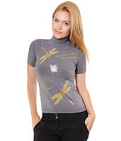Американка со стрекозами серая, фото 1