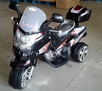 Детский электромотоцикл T-725 BLACK с MP3 97*61.5*43.5см