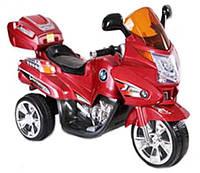 Электрический мотоцикл T-725 RED с MP3 97*61.5*43.5см, электромобиль детский
