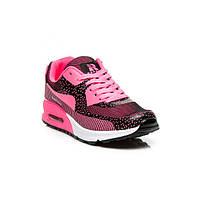 Модные женские темно-розовые кроссовки Nike Air Max 90 Найк Аир Макс 90, копия Rapter