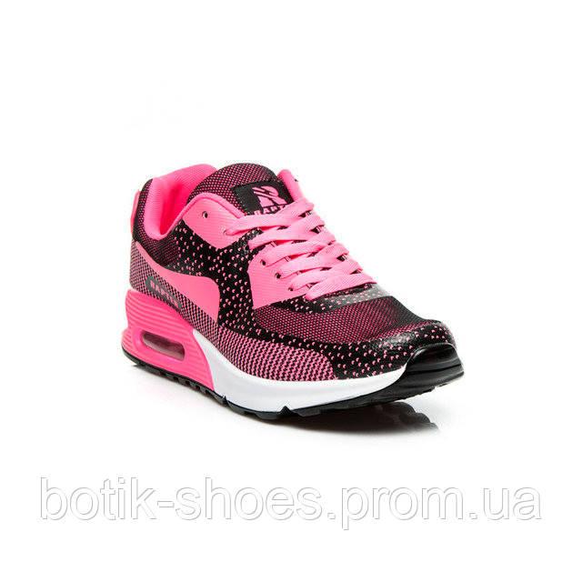 1f6d643a Модные женские темно-розовые кроссовки Nike Air Max 90 Найк Аир Макс 90,  копия