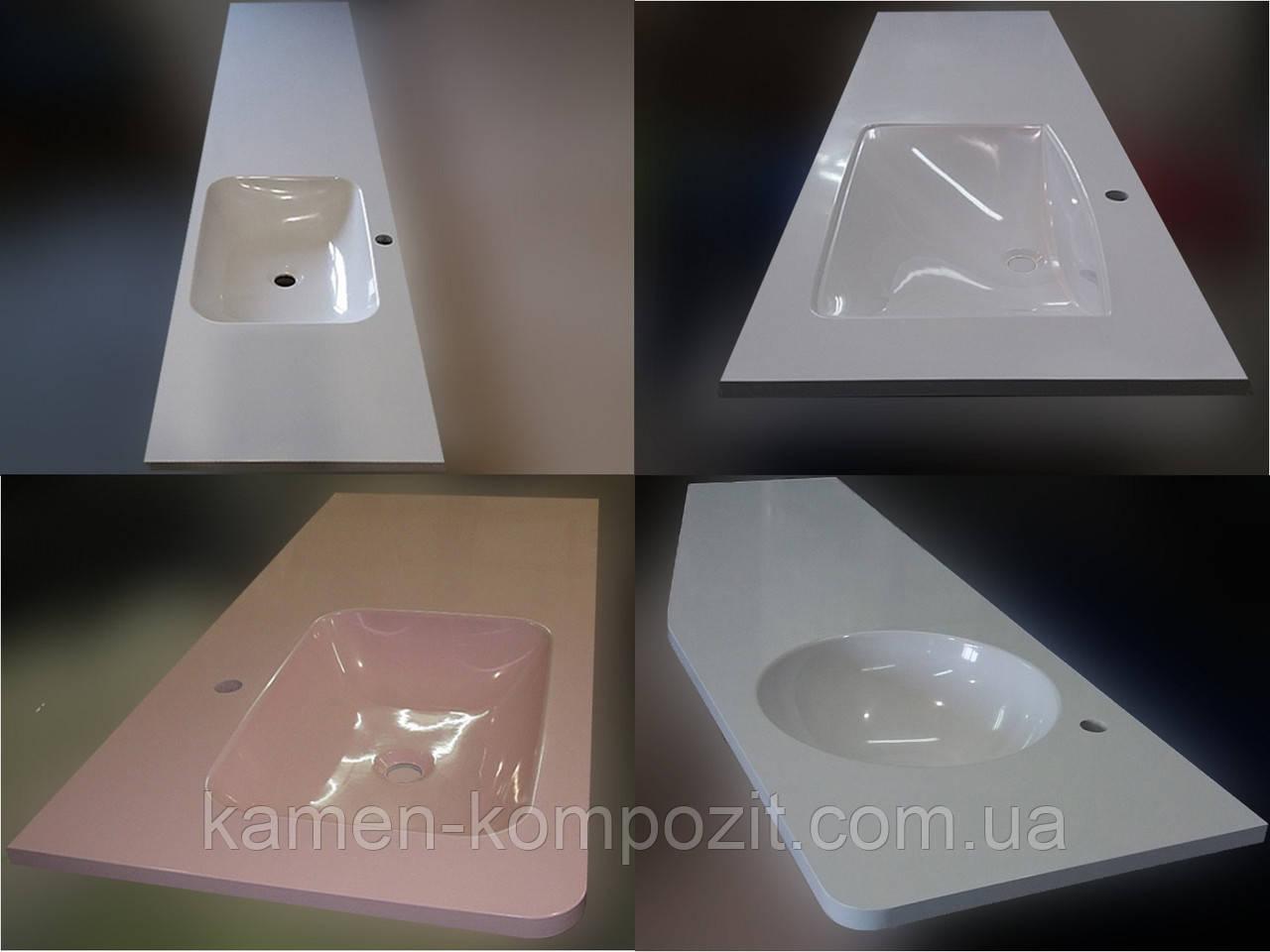 Столешница в ванную под заказ, фото 1