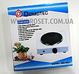 Электрическая переносная плитка-поверхность Domotec MS-5821 1000W, фото 3
