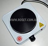 Электрическая переносная плитка-поверхность Domotec MS-5821 1000W, фото 4