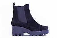 Ботинки из натуральной замши №333-2