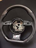 Карбоновый руль Audi S4