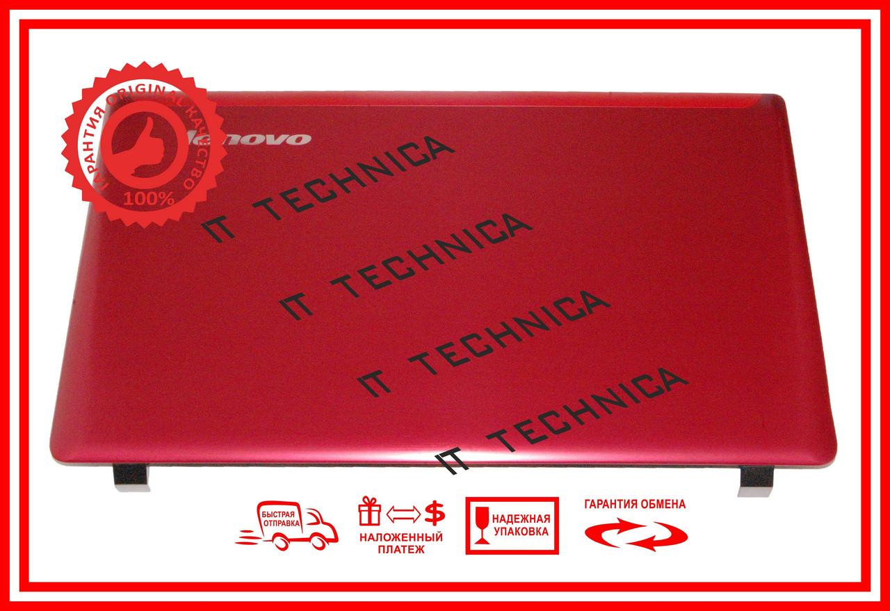 Крышка матрицы (задняя часть) LENOVO Z570 Красный