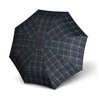 Зонт-трость мужской Knirps T.903 Check Blue&Green