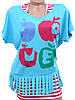 Молодежная футболка с майкой 44-48 (в расцветках), фото 6