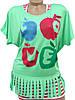 Молодежная футболка с майкой 44-48 (в расцветках), фото 8