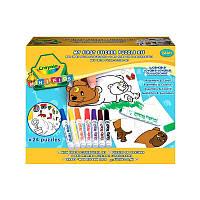Мой первый пазл-наклейка, набор для творчества, Crayola