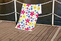 Полотенце Lotus пляжное - Good Day 75*150 велюр