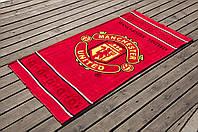Полотенце Lotus пляжное - Manchester United 75*150 велюр