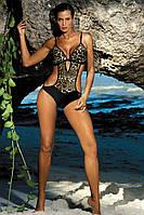 Сексуальный леопардовый купальник монокини
