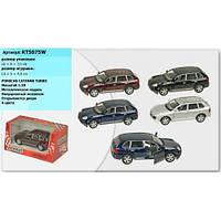 """Машина металл """"KINSMART"""" """"Porsche Cayenne Turbo"""", в коробке 16*8*7,5см ()"""