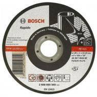 Круг отрезной по металлу Bosch Inox-Rapido 125x1mm (2.608.600.549)