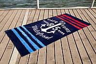 Полотенце Lotus пляжное - Watherfront 75*150 велюр