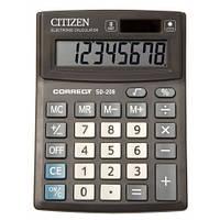 Калькулятор Citizen Correct SD-208