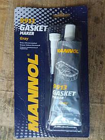 Серый силиконовый  герметик МАННОЛ 9913