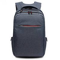 """Городский рюкзак для ноутбука 15,6"""" Тigernu T-B3130, стальной серый, фото 1"""