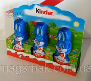 Киндер / Kinder Шоколад Фигурный Зайчики, фото 2