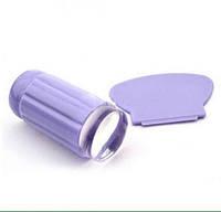 Штамп для стемпинга со скребком с силиконовой подушечкой