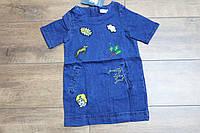 Джинсовое платье для девочек  110- 160 рост